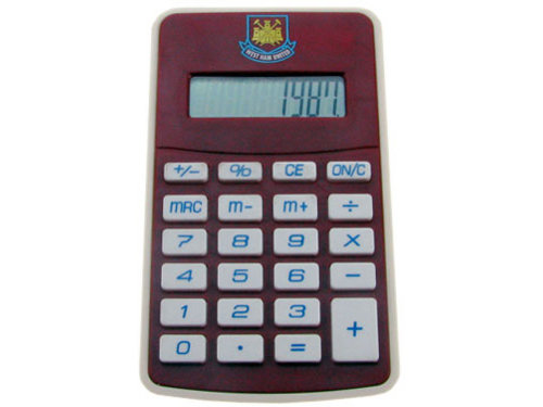 kalkulator West Ham United