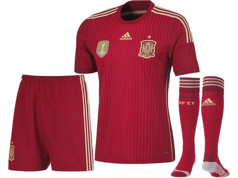 strój Hiszpania 14-15