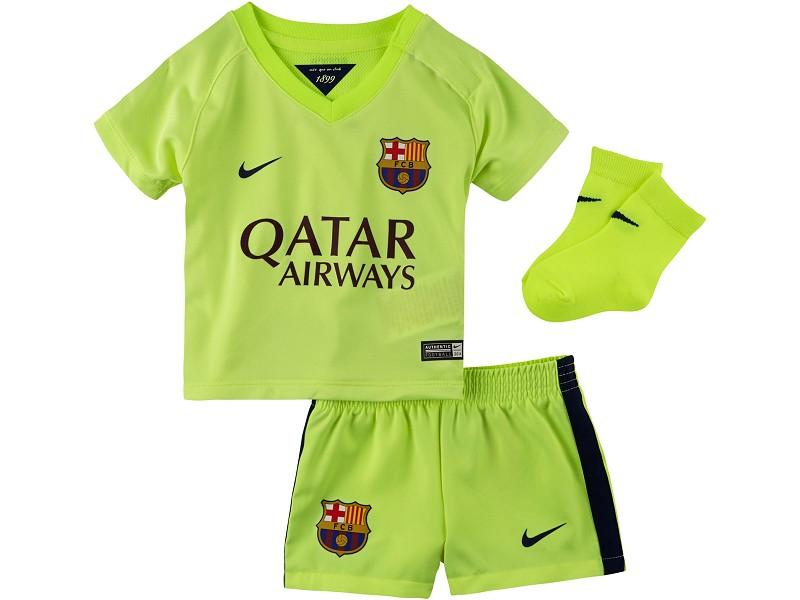 strój junior FC Barcelona 14-15