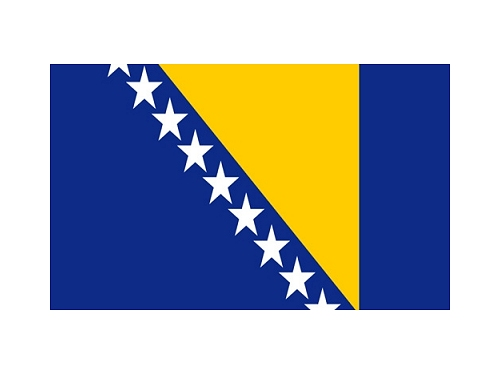 flaga Bośnia i Hercegowina