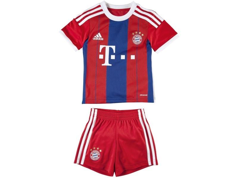 strój junior Bayern Monachium Adidas (14-15) > koszulki ...